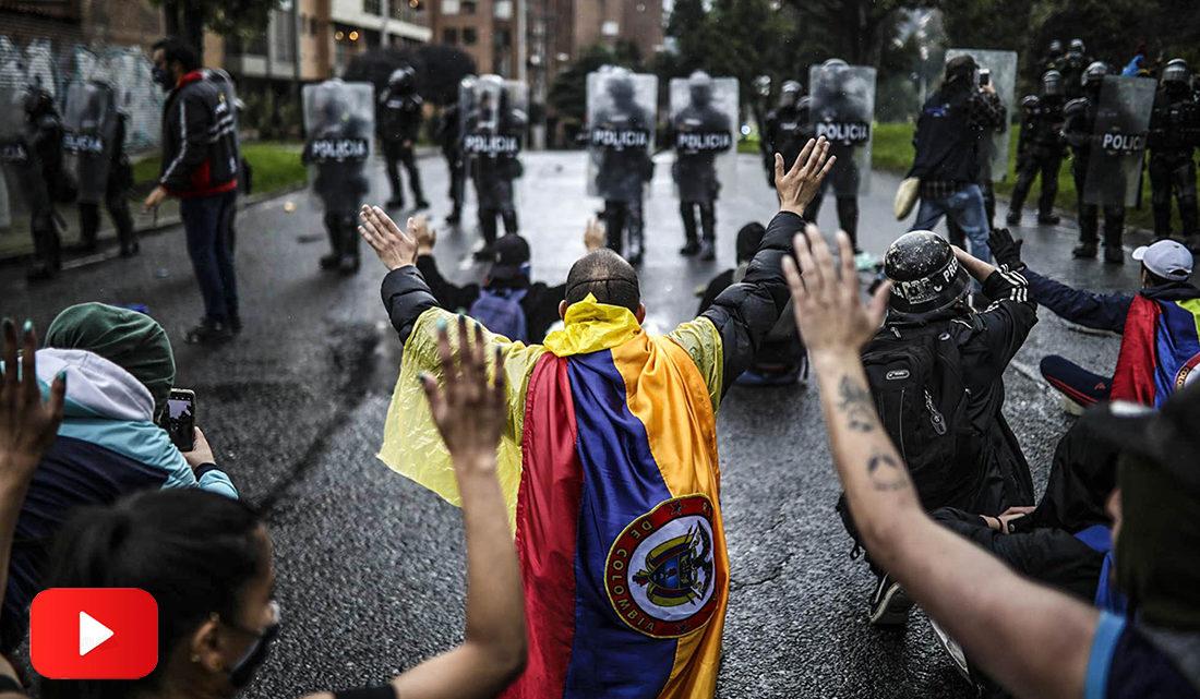 Colombia: la policía sigue reprimiendo