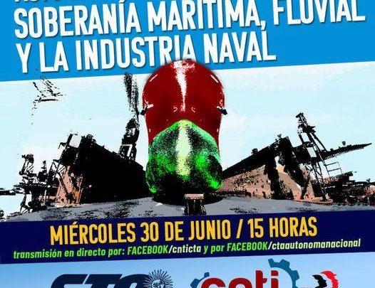 """Anuncian para mañana realización del acto """"En defensa de la soberanía marítima, fluvial y de la industria naval"""""""