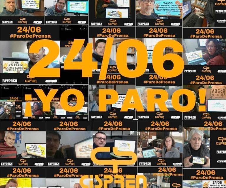 Córdoba: las y los trabajadores de prensa paran por mejoras salariales