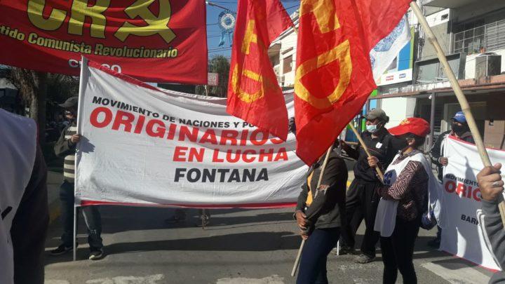 Masivo rechazo a la represión policial en Chaco