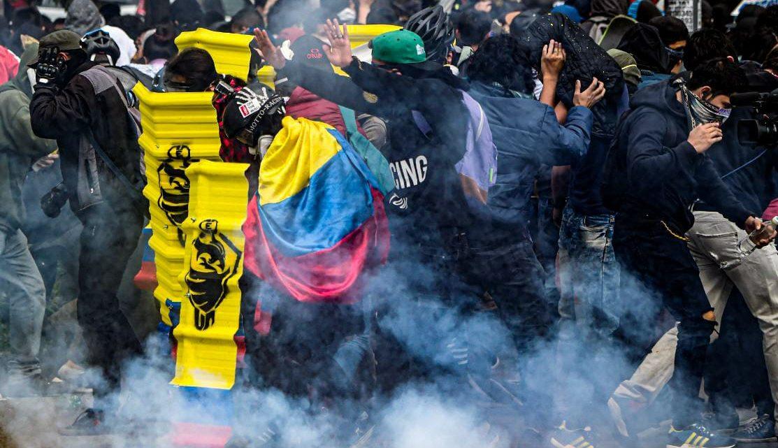 Informe de ONG confirma asesinatos por parte de las fuerzas represivas en Colombia
