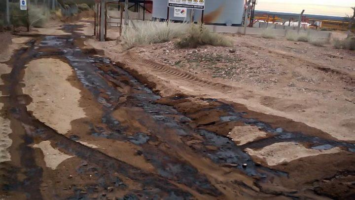 Techint derramó petróleo en territorio mapuche