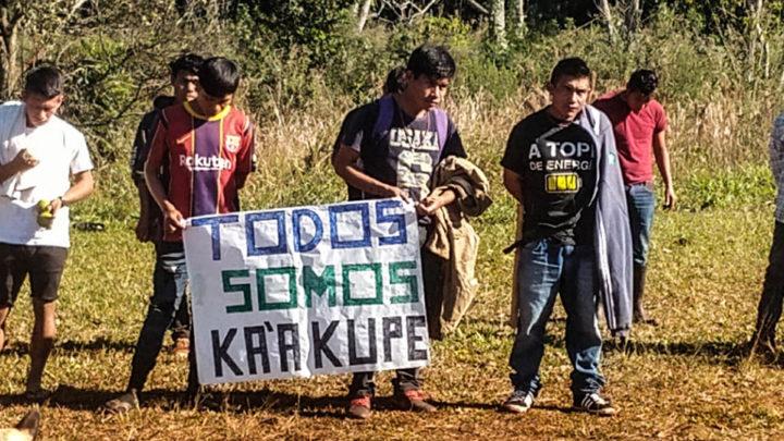 Comunidades del pueblo Mby Guaraní exigen respuestas al gobierno nacional