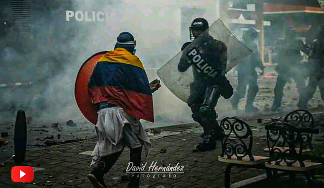 Represión y asesinatos en Colombia
