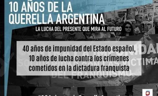 Los crímenes del franquismo. La memoria histórica y la Querella Argentina