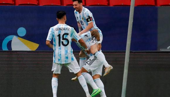 Argentina a la final por penales