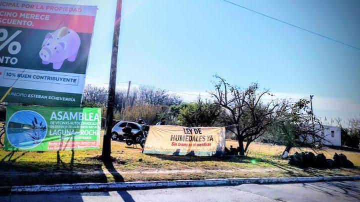 Jornada de limpieza y protesta en defensa de la Reserva Natural Laguna de Rocha