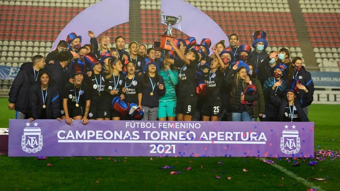 ¡San Lorenzo campeón del fútbol argentino!