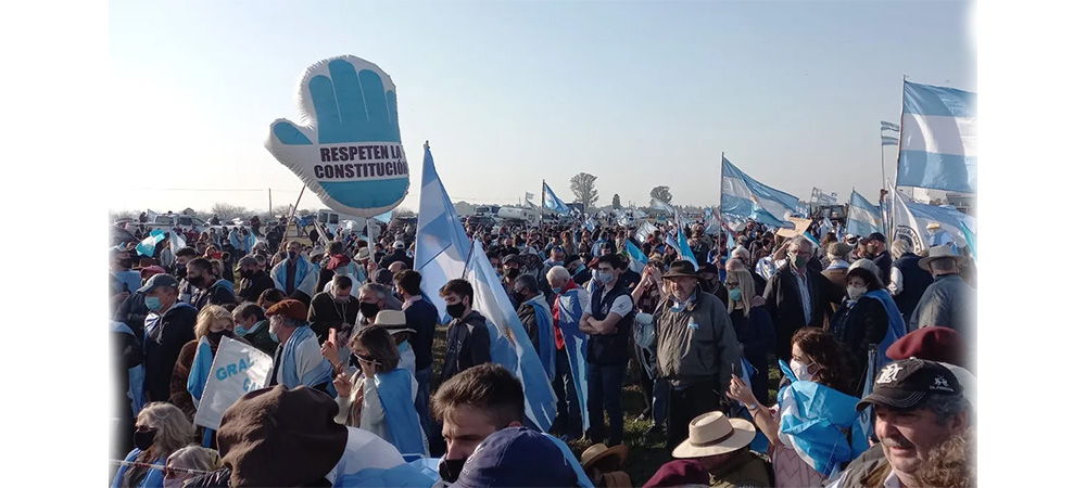 """Los """"autoconvocados"""" del campo: una nueva realidad política"""