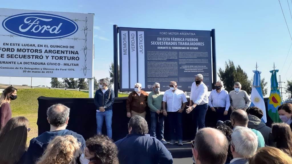 Crónica señalización de fábrica Ford en Pacheco, Tigre