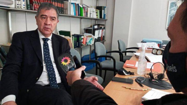 Sorpresiva presencia de un abogado de Bariloche en conflicto mapuche
