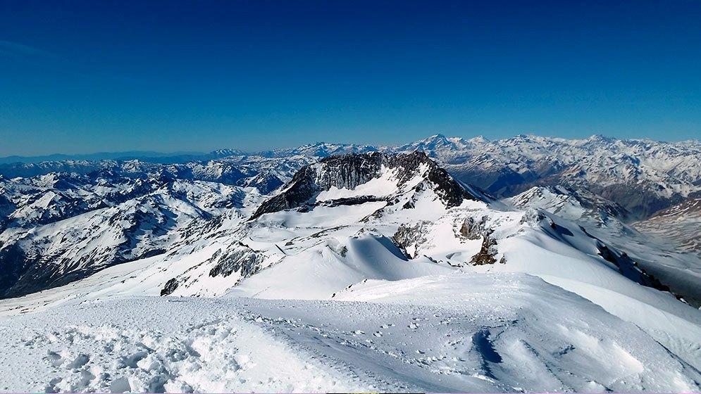 Portal libre para seguir evolución de la nieve en los Andes