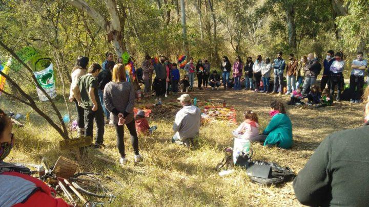 Corpachada en la Reserva Natural de Santa Catalina