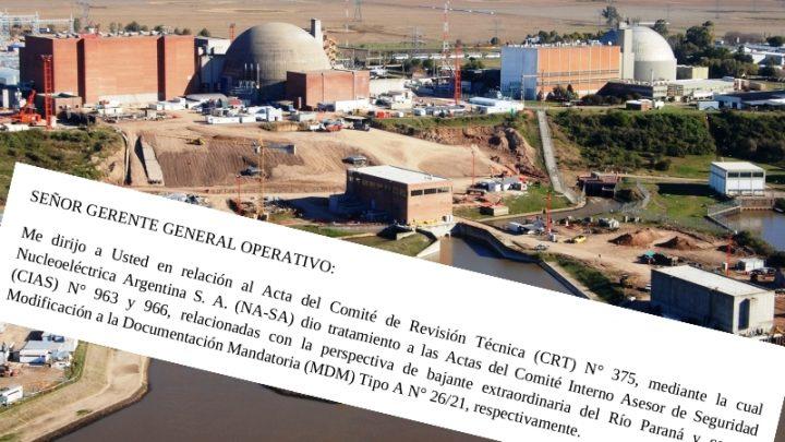 La bajante del Paraná y los límites de operación de Atucha