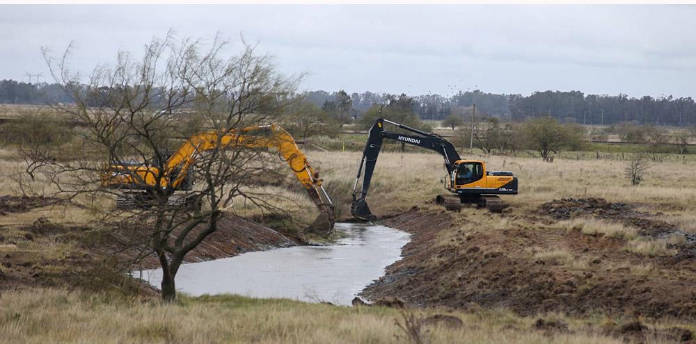 Arroyo San Vicente: vecinos detienen las máquinas excavadoras