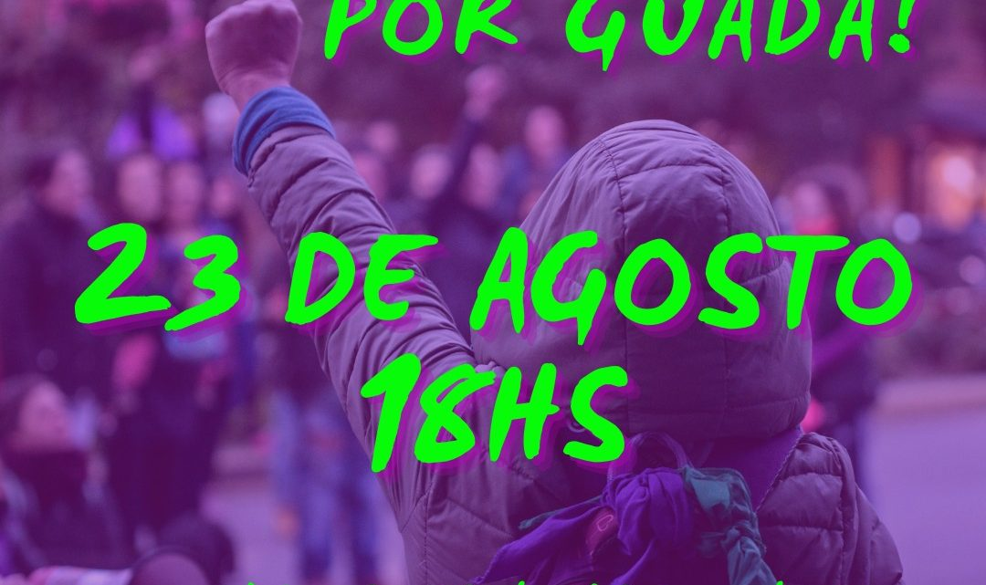 En Villa la Angostura, marchamos a los seis meses del femicidio de Guadalupe Curual