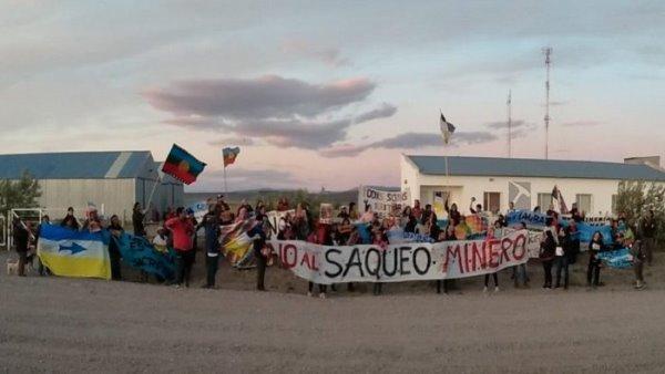 Río Negro: En Sierra Colorada cierran las tranqueras a las mineras