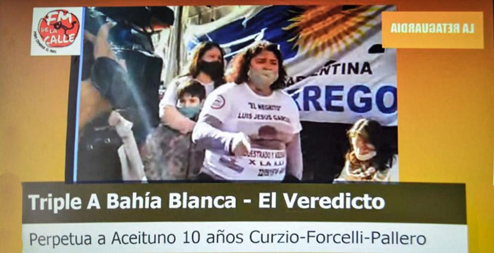 Integrantes de la Triple A de Bahía Blanca condenados por sus crímenes