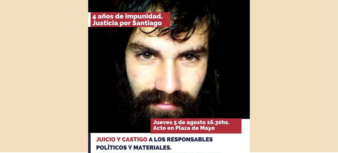 4 años de impunidad. Justicia para Santiago