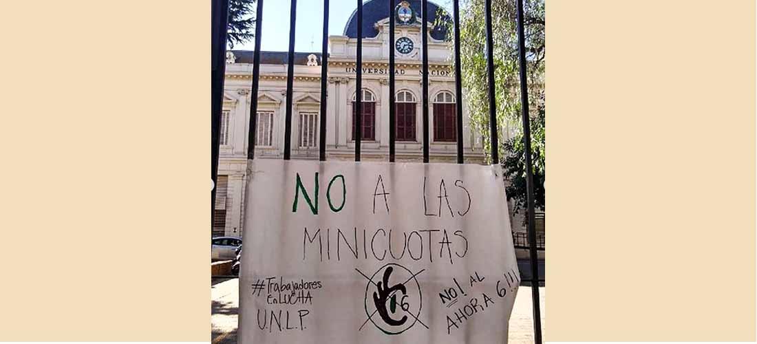 Sindicalismo docente en la UNLP: escandalosa asamblea virtual