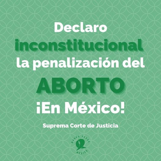 México: decisión histórica para el derecho a decidir
