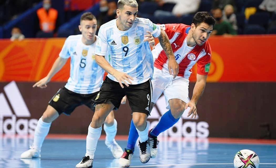 Futsal: Argentina se recuperó a tiempo y está en cuartos de final