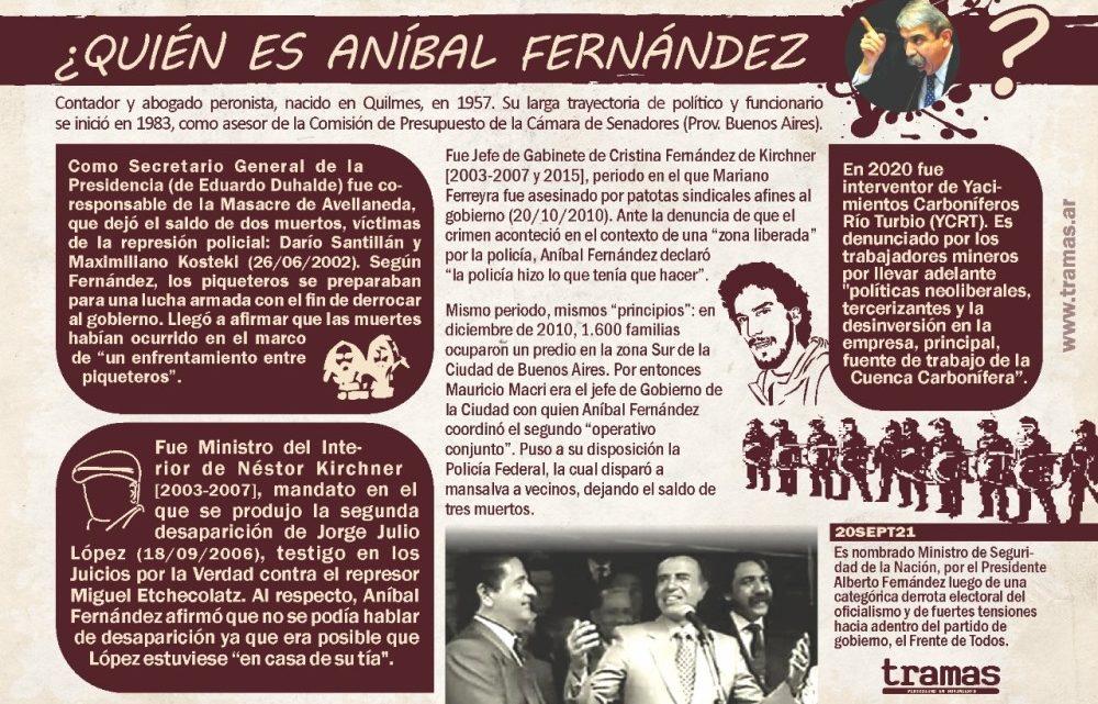 ¿Quién es Aníbal Fernández?
