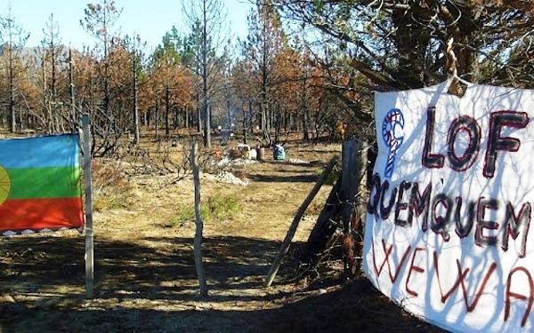 Territorio Mapuche sitiado por fuerzas represivas