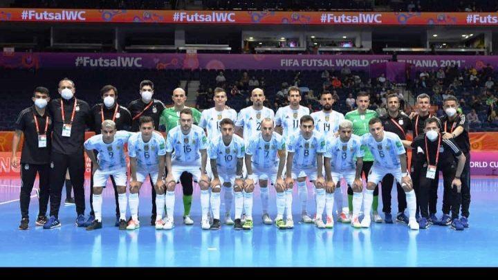 Futsal: Un arranque arrollador para Argentina en el Mundial