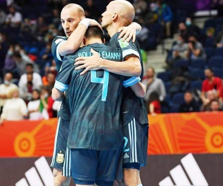 Mundial de Futsal: Argentina a octavos de final
