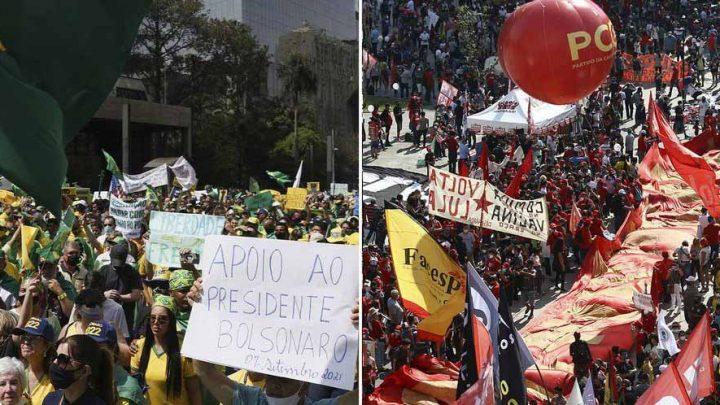 "Brasil, 7 de setiembre de 2021: Bolsonaro vs ""frente amplísimo [dizque]democrático"""