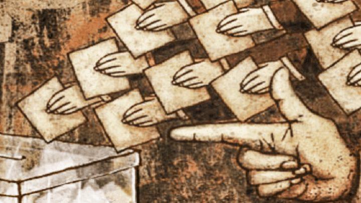 Lo electoral como rito divorciado de la esperanza