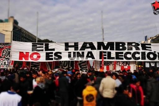 Organizaciones sociales marchan contra el ajuste y el FMI