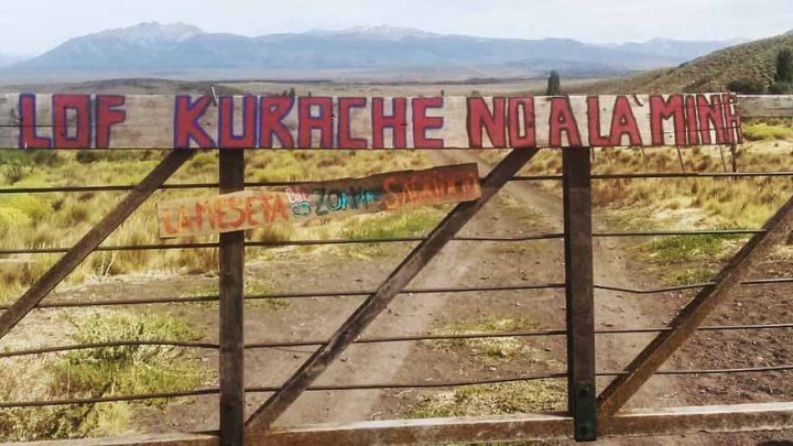 Denuncia del Lof Kuarache