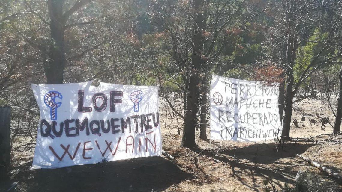 URGENTE: Nuevamente represión en lof Quemquemtrew Cuesta del Ternero