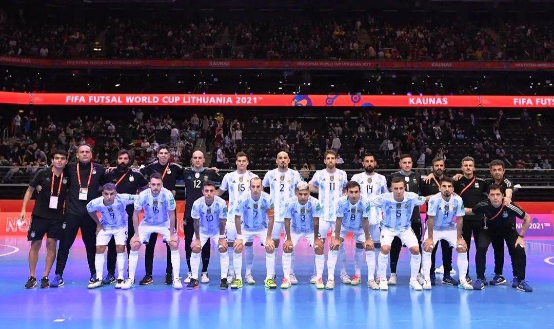Futsal: Argentina medalla de plata, pero un orgullo de oro