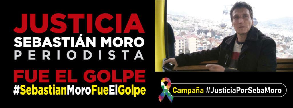 Presentación oficial de la campaña por Justicia por Sebastián Moro