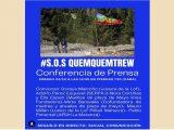 Conferencia de prensa #S.O.S Lof Quemquemtrew